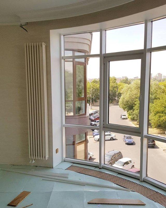 Внутрипольные конвекторы и Вертикальный радиатор