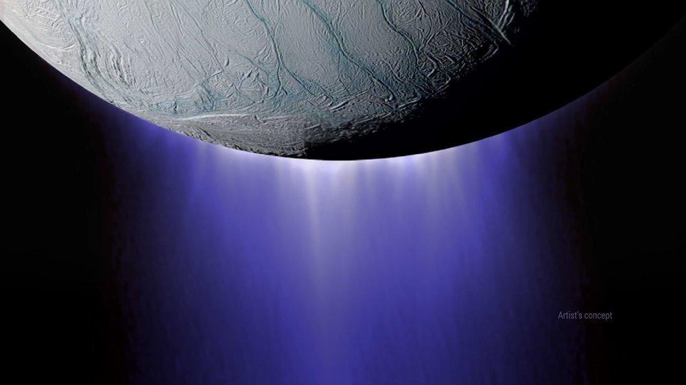 На спутнике Сатурна обнаружили органику