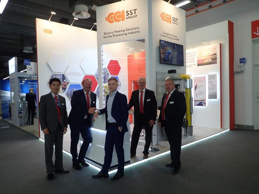 ГК «ССТ» приняла участие в международной выставке ACHEMA 2018