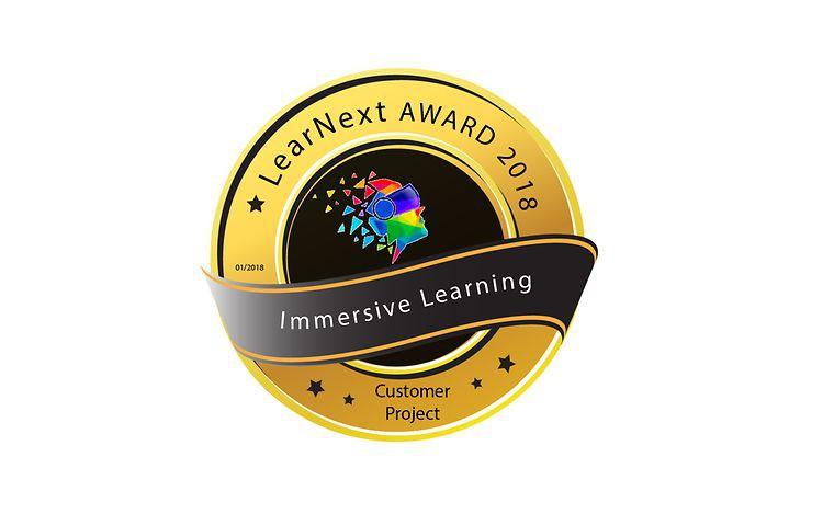 Immersive Learning Award 2018