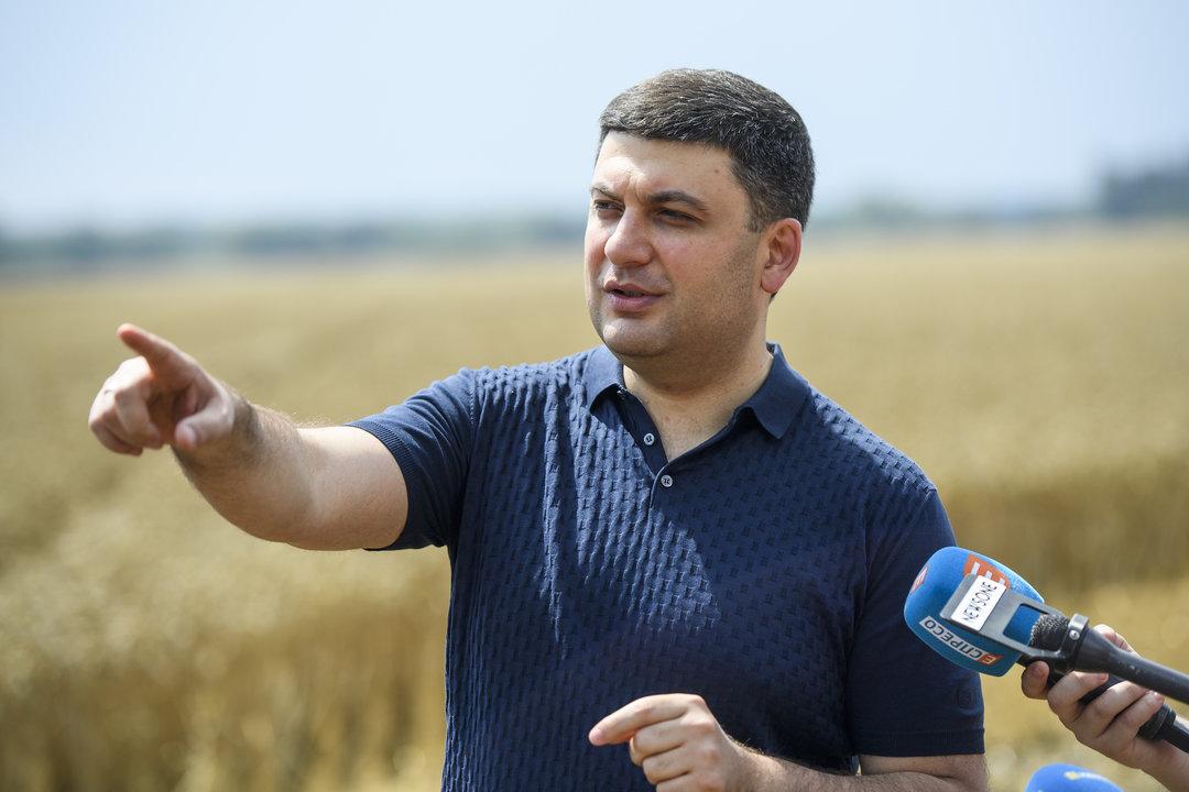 Гройсман предложил присвоить боксеру Усику звание Герой Украины