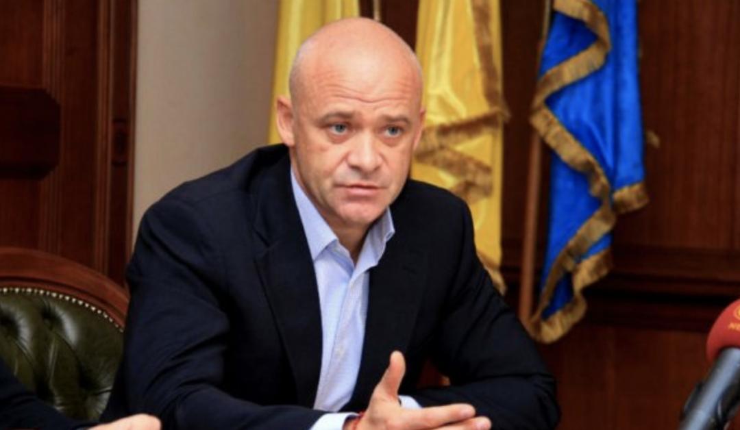 Мэр Одессы Труханов подал в суд на Украину