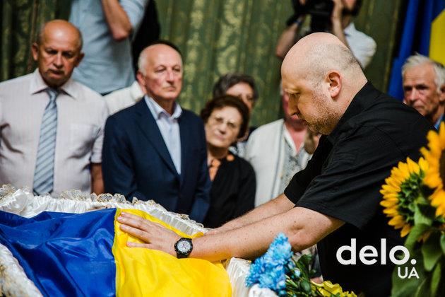 Как Украина прощалась с Левком Лукьяненко (фото)