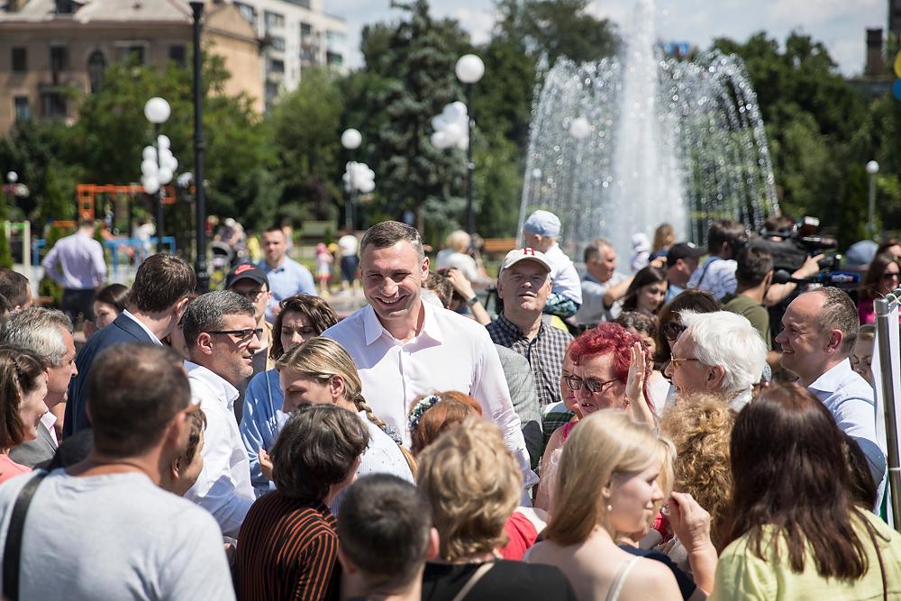 УДАРное лето Кличко. Сколько денег потратили на обустройство парков в Киеве