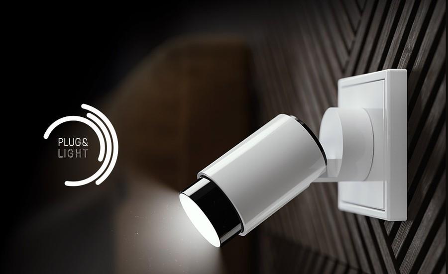Plug & Light — концепция инновационного освещения от JUNG