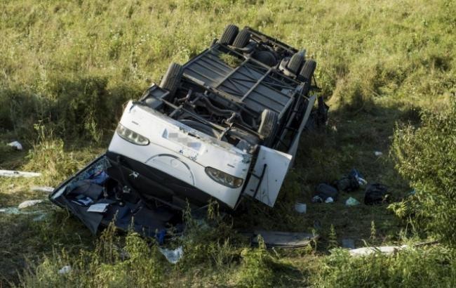 Автобус с украинцами попал в ДТП в Венгрии