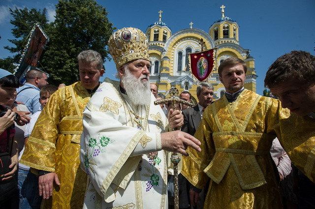 Московскому патриархату придется передать Лавры поместной церкви — патриарх Филарет