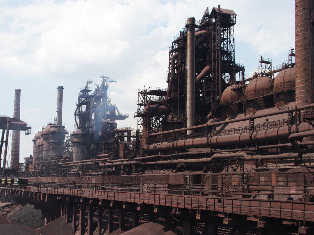 В Днепре горел металлургический завод