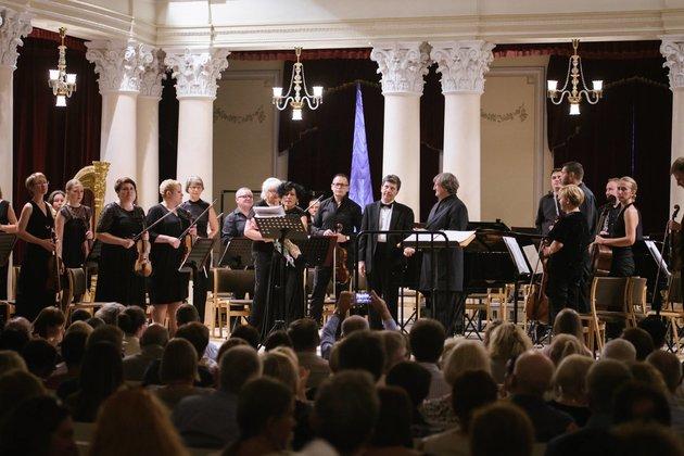 Фестиваль высокого искусстваBouquet Kiev Stage открылся мировой премьерой Сильвестрова
