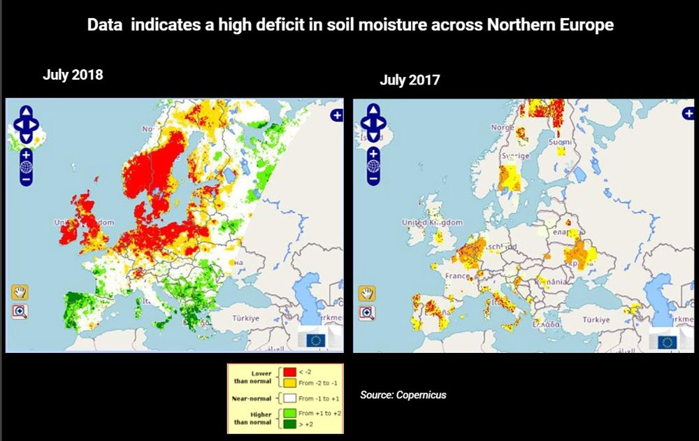 Что происходит с климатом в Европе
