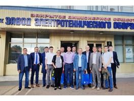 Представителям ОАО «Сетевая компания» рассказали о последних разработках на ЗАО «ЗЭТО»