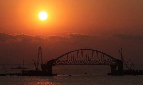 Охрана Крымского моста обойдется бюджету в 54 миллиона рублей