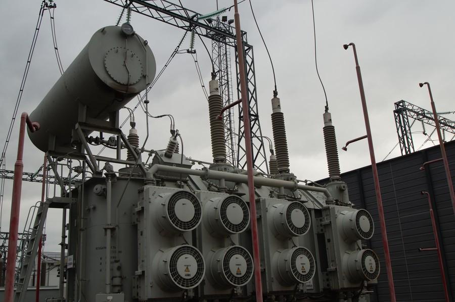 Высоковольтные вводы «Изолятор» на трансформаторе ПС «Слобода» МОЭСК