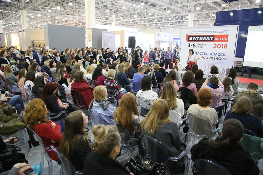 В марте МВЦ «Крокус Экспо» откроет двери для посетителей крупнейшей в России строительно-интерьерной выставки BATIMAT RUSSIA