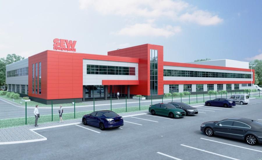 SEW-EURODRIVE  инвестировал 35 млн евро в создание производства приводной техники под Петербургом