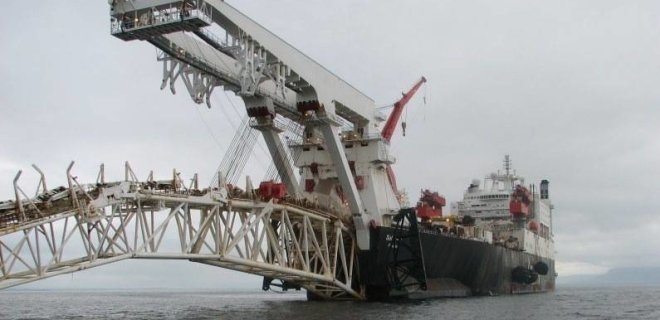 """""""Газпром"""" начинает строительство морской части """"Северного потока-2"""""""