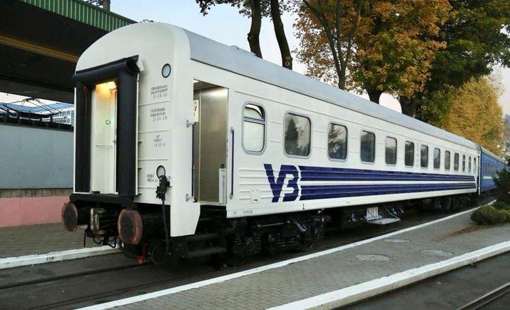 Руководство УЗ проверило первый вагон с индивидуальным регулированием температуры