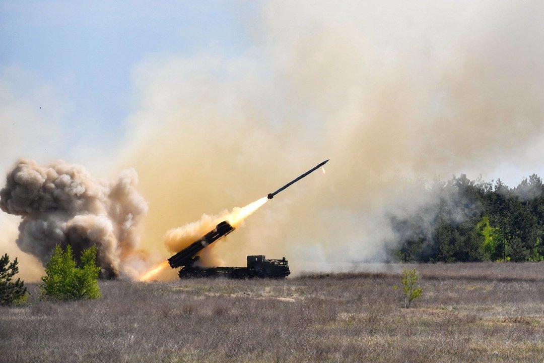 """ВСУ приняли на вооружение новый ракетный комплекс """"Ольха"""""""