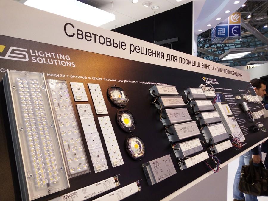 Компоненты светодиодных светильников Vossloh-Schwabe