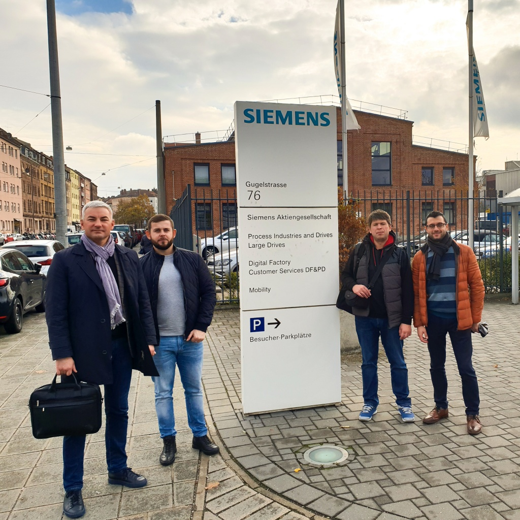 Визит СЗЭМО «Электродвигатель» в Германию на завод Siemens