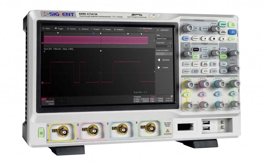 Осциллографы реального времени АКИП™ достигли полосы пропускания 1 ГГц.