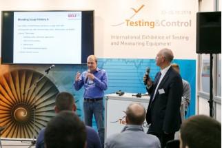 В Москве с успехом прошла выставка испытательного и контрольно-измерительного оборудования Testing & Control