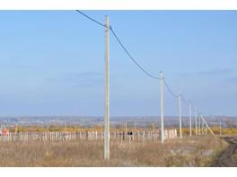 В Ульяновской области реконструировали воздушную линию с деревянными опорами