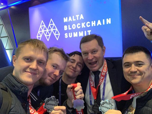 Команда DataArt выиграла главный приз хакатона Malta Blockchain Summit