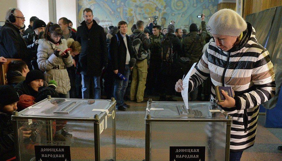 На оккупированных территориях Донбасса стартовали фейковые выборы