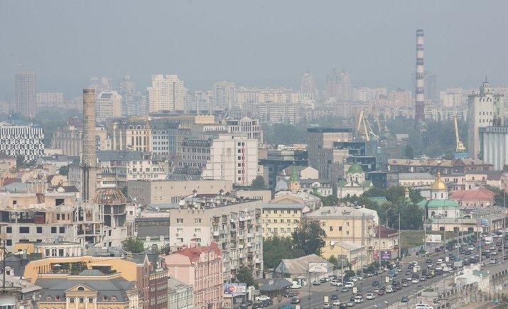Более 80% загрязнений воздуха в Киеве — от автотранспорта
