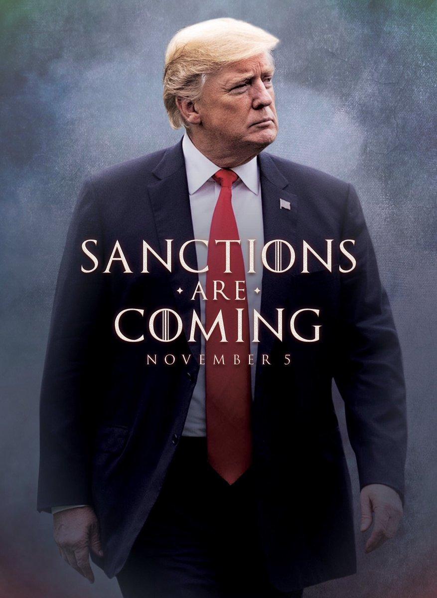 В США сегодня вступают в силу санкции против Ирана