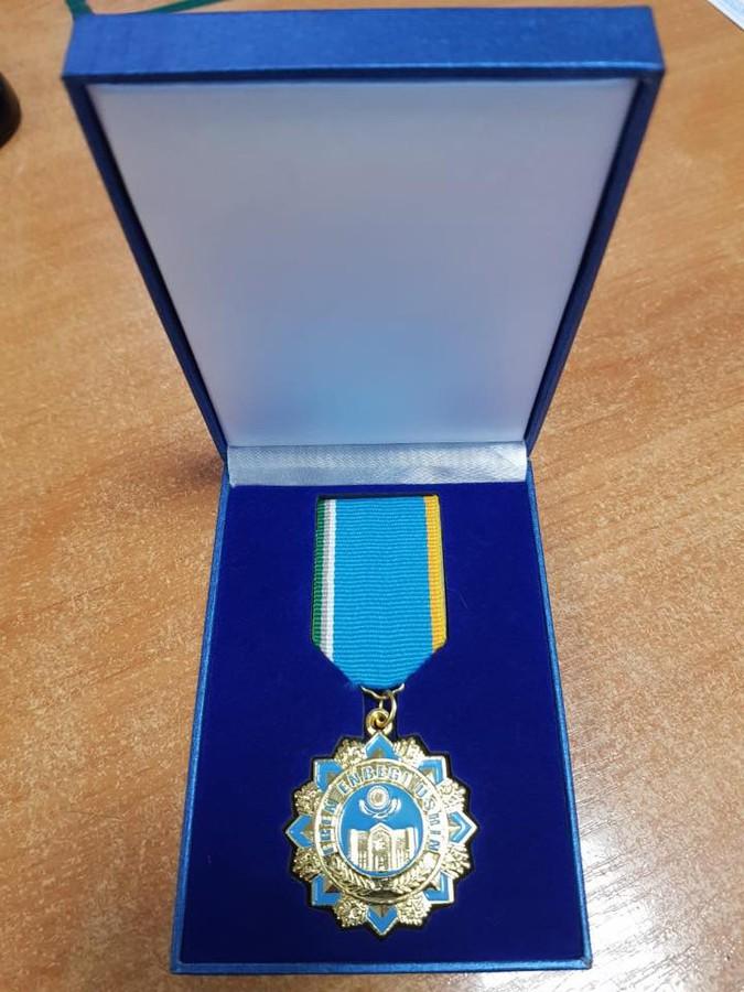 Медаль «Ерен енбеги ушин»