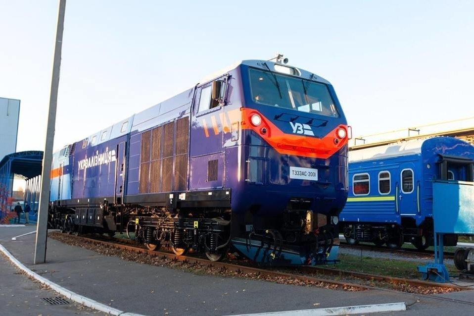 Локомотив General Electric совершил первую перевозку груза в Украине