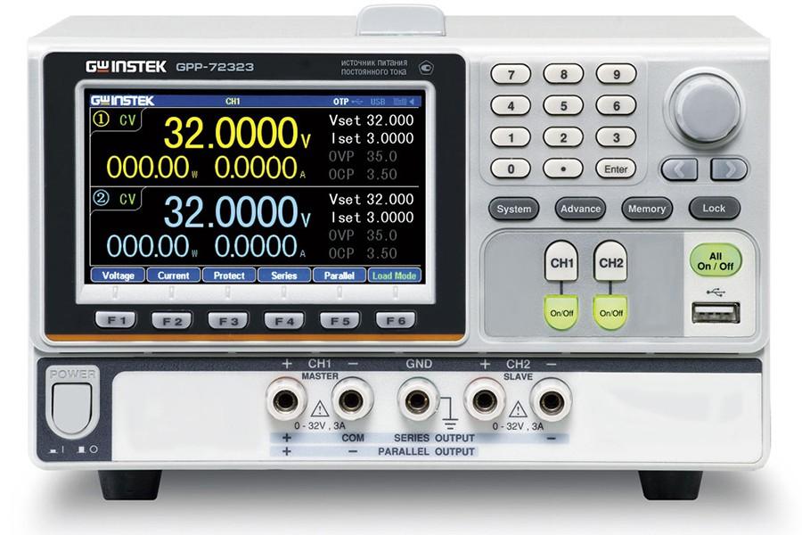 Новые многоканальные источники питания серии GPP-7xxxx от «Эталонприбор»