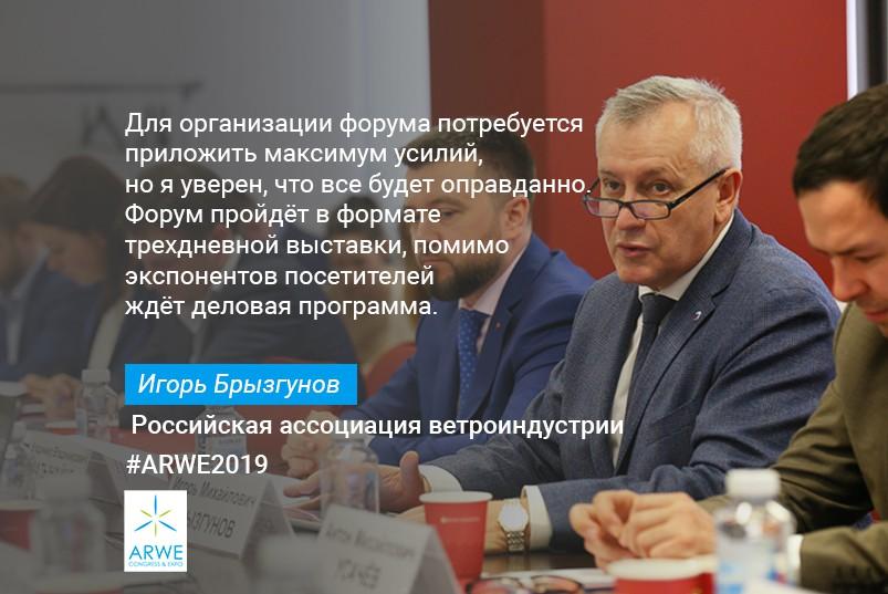 Председатель РАВИ Игорь Брызгунов