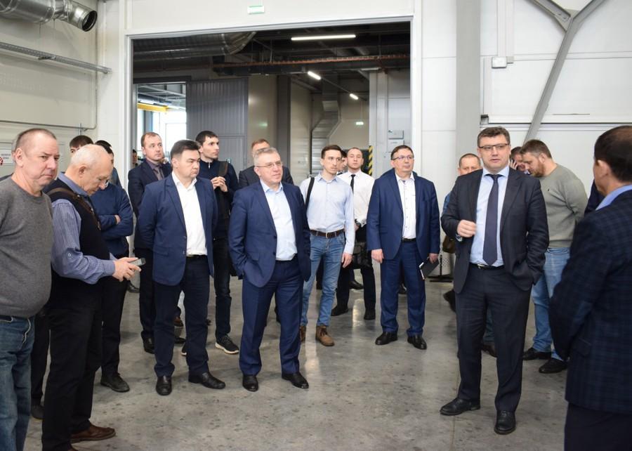 Для гостей мероприятия АО «НПО «Каскад» организовало экскурсию по цехам нового производственного комплекса
