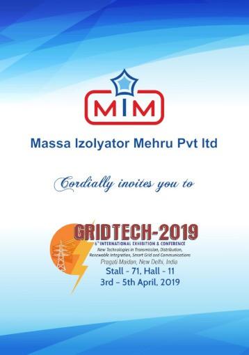 «Изолятор» примет участие в Международной выставке и конференции GridTech 2019