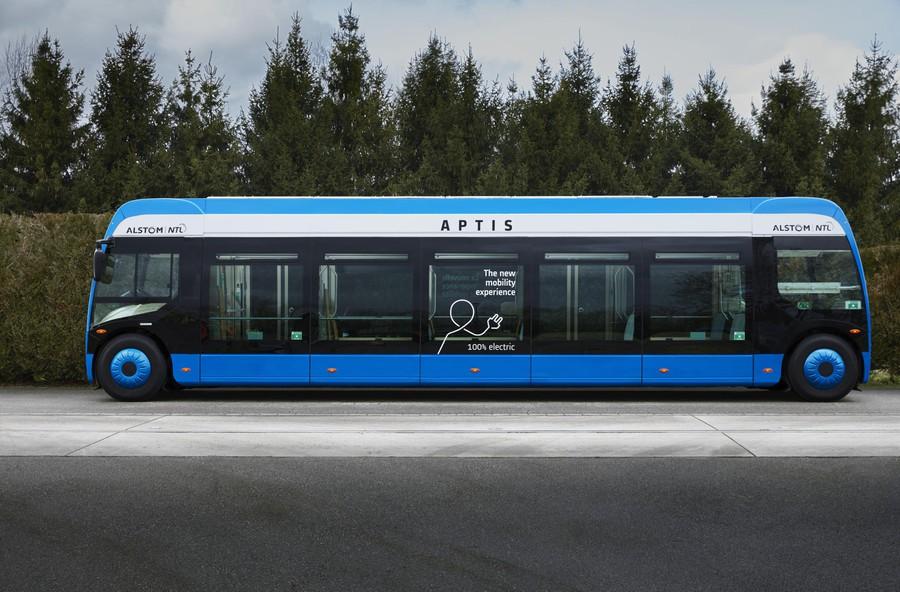 Компания Mersen была выбрана для оснащения Aptis — нового 100% электрического автобуса от Alstom