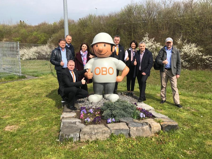 Делегация РАЭК посетила с визитом OBO Bettermann в Германии
